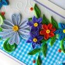 Handmade quilling card/ Birthday/ Greeting card/ Anniversary card/ Wedding Thank you