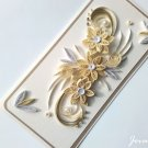 Handmade card/ quilling card/ birthday card/ wedding card