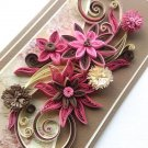 Beautiful handmade card/ art card/ quilling card/ greeting card/ 3d card