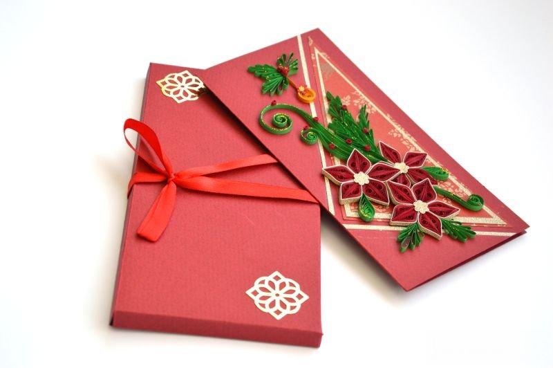 Christmas greeting card/ Handmade Chrisitmas card/ Xmas card/ Merry Christmas