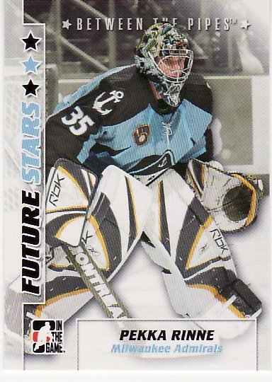 2007-08 In the Game. Between the Pipes. Complete Set of 100 cards.