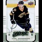 2015-16 MVP Hockey  Silver Script Parallel  #4  Carl Soderberg