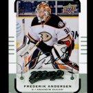 2015-16 MVP Hockey  Silver Script Parallel  #16  Frederik Andersen