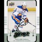 2015-16 MVP Hockey  Silver Script Parallel  #163  Taylor Hall