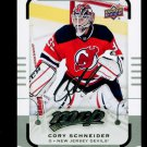 2015-16 MVP Hockey  Silver Script Parallel  #11  Cory Schneider