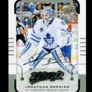 2015-16 MVP Hockey  Silver Script Parallel  #147  Jonathan Bernier