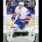 2015-16 MVP Hockey  Silver Script Parallel  #157  Kyle Okposo