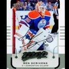 2015-16 MVP Hockey  Silver Script Parallel  #47  Ben Scrivens