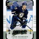 2015-16 MVP Hockey  Silver Script Parallel  #129  Jaden Schwartz