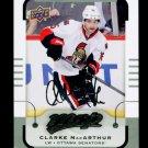 2015-16 MVP Hockey  Silver Script Parallel  #29  Clarke MacArthur