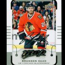 2015-16 MVP Hockey  Silver Script Parallel  #102  Brandon Saad