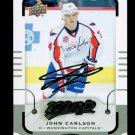 2015-16 MVP Hockey  Silver Script Parallel  #132  John Carlson