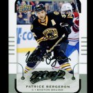 2015-16 MVP Hockey  Silver Script Parallel  #150  Patrice Bergeron