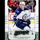2015-16 MVP Hockey  Silver Script Parallel  #33  Mark Scheifele