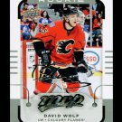 2015-16 MVP Hockey  Silver Script Parallel  #178  David Wolf  RC