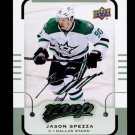 2015-16 MVP Hockey  Silver Script Parallel  #37  Jason Spezza