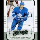 2015-16 MVP Hockey  Silver Script Parallel  #137  James van Riemsdyk