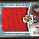 2014-15 ITG Leaf Heroes & Prospects Super Series Jersey  Alexandre Carrier  7/60
