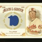 2015 Topps Allen & Ginter  Relic Card  #FSRB-CT  Chris Tillman