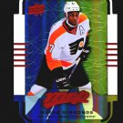 2015-16 MVP Hockey Colours and Contours #80  Wayne Simmonds  Teal Level 3