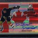 2014-15 ITG Leaf Metal Hockey Autograph Canadian Pride  CP-BP1  Brad Park  7/25