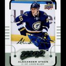 2015-16 MVP Hockey  Silver Script Parallel  #62  Alexander Steen
