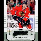2015-16 MVP Hockey  Silver Script Parallel  #76  Duncan Keith
