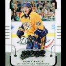 2015-16 MVP Hockey  Silver Script Parallel  #189  Kevin Fiala  RC