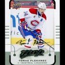 2015-16 MVP Hockey  Silver Script Parallel  #93  Tomas Plekanec