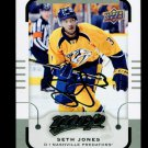 2015-16 MVP Hockey  Silver Script Parallel  #90  Seth Jones