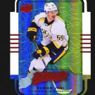 2015-16 MVP Hockey Colours and Contours #92  Roman Josi  Teal Level 3