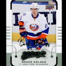 2015-16 MVP Hockey  Silver Script Parallel  #78  Brock Nelson