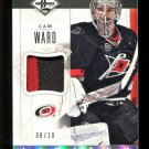 2012-13 Panini Limited Hockey  Jersey PATCH  #LJ-CW  Cam Ward  8/10