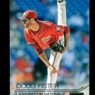 2015 Topps Baseball Stadium Club  White Foil  #207  Doug Fister