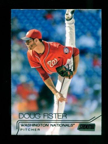 2015 Topps Baseball Stadium Club  White Foil  #207  Doug Fister