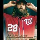 2015 Topps Baseball Stadium Club  GOLD Foil  #251  Jayson Werth