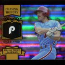 2013 Topps Series 2 Baseball Chasing History Gold Holo Foil #CH-92 Mike Schmidt