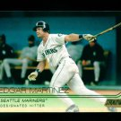 2015 Topps Baseball Stadium Club  GOLD Foil  #245  Edgar Martinez