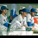 2015 Topps Baseball Stadium Club  GOLD Foil  #18  Zack Wheeler