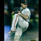 2015 Topps Baseball Stadium Club  GOLD Foil  #220  Jake Peavy