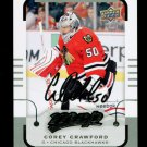 2015-16 MVP Hockey  Silver Script Parallel SP  #161  Corey Crawford