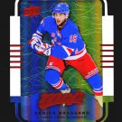 2015-16 MVP Hockey Colours and Contours #13  Derick Brassard  Teal Level 3