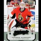 2015-16 MVP Hockey  Silver Script Parallel SP  #155  Andrew Hammond