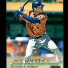 2015 Topps Baseball Stadium Club  GOLD Foil  #52  Jake Marisnick