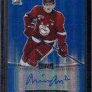 2014-15 ITG Leaf Metal Hockey Autograph  Blue  BA-MM2  Medric Mercier  11/25
