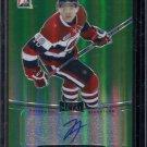 2014-15 ITG Leaf Metal Hockey Autograph  Green  BA-JA1  Jeremiah Addison  10/10