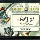 2011-12 ITG Between the Pipes Goaliegraph Autograph  A-EL  Eddie Lack
