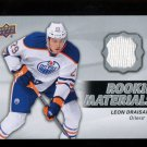 2014-15 Upper Deck Hockey Series 2  Rookie Materials  #RM16  Leon Draisaitl
