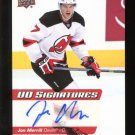 2014-15 Upper Deck Hockey Series 2 UD Signatures  #UDS-JM  Jon Merrill