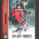 2014 ITG Hockey Draft Prospects AUTOGRAPH  Alexander Protapovich  #A-APR1